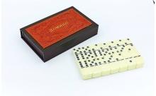 Домино в PU коробке 5010F-1 (кости-пластик, h-4,9 см, кор. 20x13x3,5см)