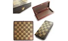 Шахматная доска деревянная складная, 44 x 44 см