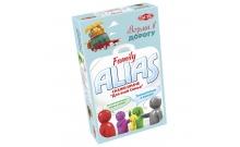 Настольная игра Family ALIAS compact. Семейный Элиас дорожный (РУС). Tactic (53374)