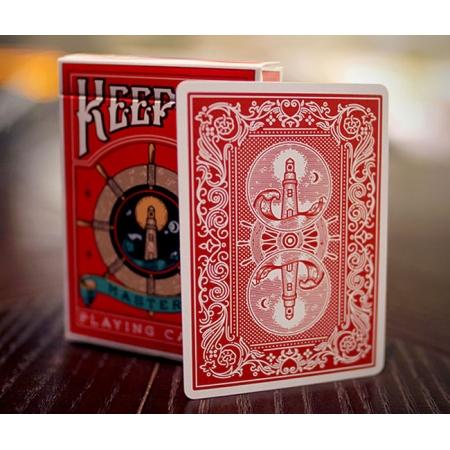 Карты Keeper Masters Red от Ellusionist