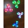 LED спиннер светящийся c Bluetooth колонкой