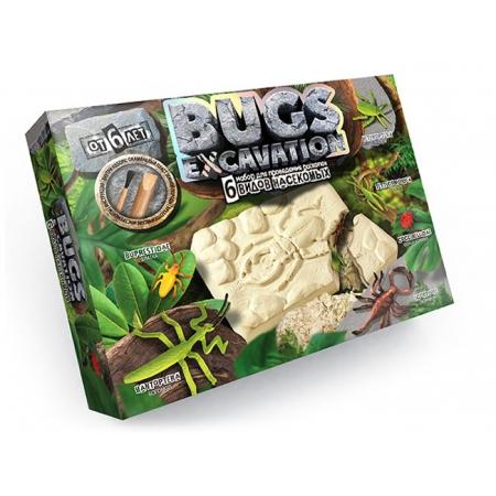 Раскопки: 6 видов насекомых. Danko BUGS EXCAVATION, BEX-01-04