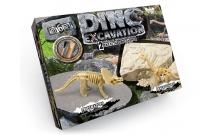 Раскопки динозавров мини-набор: Трицератопс + Брахиозавр. Danko DINO EXCAVATION