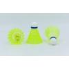 Воланы для бадминтона нейлоновые (6шт) WILSON W882-Y (в тубе, цвет желтый, дубл)