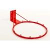 Щит баскетбольный с кольцом и сеткой UR LA-6298 (щит-металл,р-р 100x67см, кольцо d-40см, сетка NY)