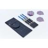 Дротики для игры в дартс цилиндрические BL-3000 Baili (сталь,вес 20гр,3шт.,+3хвост,+3опер, PVC чехол