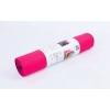 Коврик для фитнеса и йоги (Yoga mat) PVC 6мм двухслойный FI-5558-1 (1,73м x 0,61м x 6мм, малин-чер)