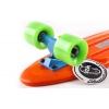 Penny (пенниборд) PU однотонная дека 22inch SK-401-7 ORIGINAL FISH (оранжевый-синий-зеленый)