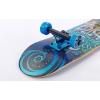 Скейтборд деревянный в сборе из канадского клена 31in FISH NEPTUNE SK-414-2 (подвеска черный-синий)