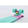 Скейтборд пластиковый Penny RUBBER SOFT FISH 22in полосатая дека SK-412-5 (MP004)