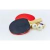 Набор для настольного тенниса 2 ракетки, 2 мяча c чехлом GD GUARD40 2star MT-5681 (древ) BST12201P40+