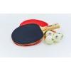 Набор для настольного тенниса 2 ракетки, 3 мяча GD GUARD40+ 2star MT-5683 (древесина)15ST12205P40+