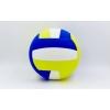 Мяч волейбольный Клееный EVA LEGEND VB-5664 (EVA, №5, 3-слоя, клееный, синий-желтый)