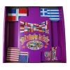 Флаги мира - настольная игра с карточками