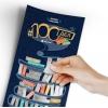 "Скретч постер ""100 ДЕЛ BOOKS edition"" (русс.яз)"