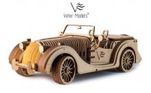 Veter Models Roadster VM-01 - Деревянный механический конструктор