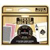 Карты Copag Texas Holdem в наборе (2 колоды 100% пластик + фишка дилера)