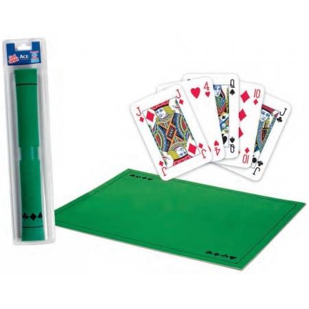 Сукно для покера Ace Cartamundi 40х60 см