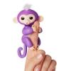Интерактивная игрушка обезьянка Fingerlings Mia фиолетовая