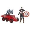 Капитан Америка (6 см.) vs Альтрон 002, Avengers, Hasbro, B1483 (B0423)