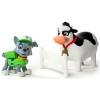 Набор из щенка-спасателя и животного: Рокки и Корова, Щенячий патруль, (7 см), PAW Patrol, SM16659-2