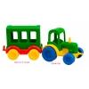 Kid cars - игровой набор с машинками, 12 шт., Wader, 39243