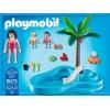 Игровой набор Детский бассейн с горкой, Playmobil, 6673