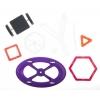Детский магнитный конструктор 48 деталей, MagPlayer, MPT-48