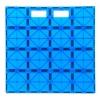 Магнитный конструктор платформа для строительства (синяя), Playmags, PM167-2