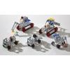Конструктор металлический 5 в 1, Строительная техника (243 дет.), Tronico, 10270-1