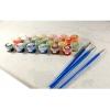 Гроздь винограда, серия Цветы, рисование по номерам, 40 х 50 см, Идейка, MG1124