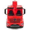 Автокран Mercedes (70 см, красный), Lena, 2175