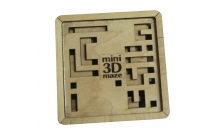 Деревянная головоломка лабиринт Mini 3D N-Maze