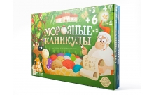 Морозные каникулы - развивающая настольная игра