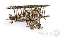 Wood Trick Самолет - Механический деревянный конструктор