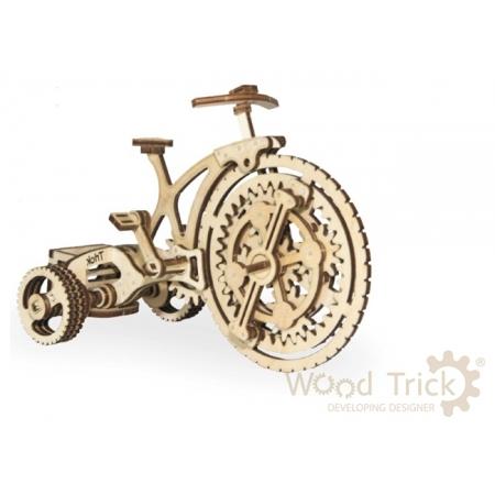 Wood Trick Велосипед - Механический деревянный конструктор