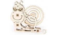 Вудик Улитка - механический мини-пазл от Wood Trick