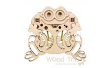 Вудик Лягушка - механический мини-пазл от Wood Trick