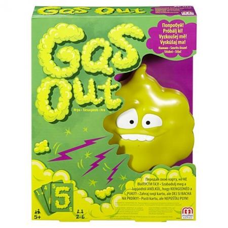 Gas Out (Мистер Пук) - настольная игра Mattel
