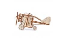 """Механический 3D пазл """"Биплан"""" Wooden City"""