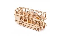 """Механический 3D пазл """"Лондонский автобус"""" Wooden City"""