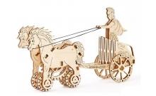 """Механический 3D пазл """"Римская колесница"""" Wooden City"""