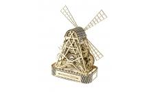 """Механический 3D пазл """"Мельница"""" Wooden City"""