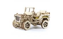 "Механический 3D пазл ""Джип 4х4"" (Jeep Willys MB) Wooden City"