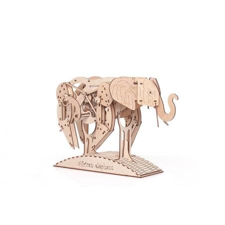 """Деревянный 3D конструктор """"Слон"""" Mr. Playwood"""