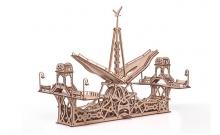 """Деревянный 3D конструктор """"Пешеходный мост"""" Mr. Playwood"""