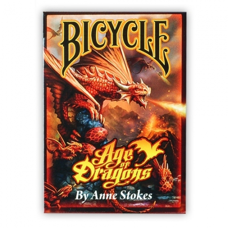 Коллекционные карты Bicycle Age of Dragons by Anne Stokes