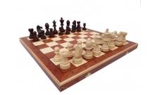 Шахматы Турнирные №7 Intarsia, 50 см, коричневые, Madon 3057