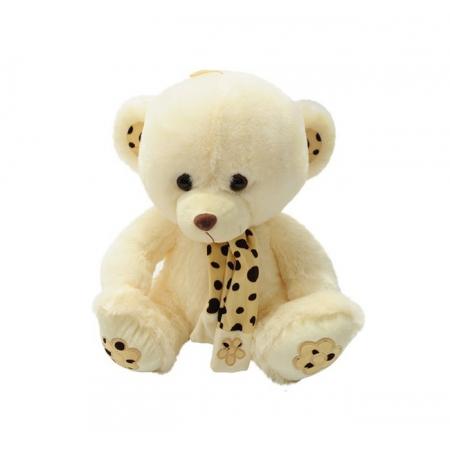 Мягкая игрушка медведь Масяня в шарфе, со звуком S-AMY14928