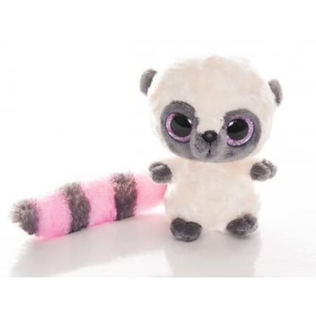 Мягкая игрушка Лемур Юху с большими глазами B210